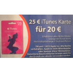 Müller: 25 € iTunes-Karte um 20 € (19.2.-25.2.2014)