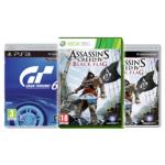 Libro Games Mittwoch: Gran Turismo 6 & Assassin's Creed 4 Black Flag um je 34,99€