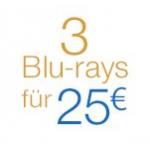 3 Blu-rays inkl. Versand um 25€ – z.B.: Hangover 3, Der große Gatsby u.v.m.
