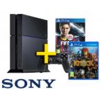 PS4 inkl. 2 Games Knack + Fifa 14 um 528.- lieferbar bei Media Markt