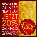 Gigabyte: 20% Cashback auf ausgewählte Mainboards