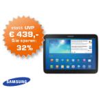Samsung Galaxy Tab 3 32GB WiFi + 3G um 299€ als Saturn Tagesdeal