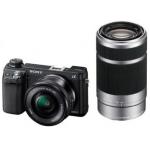 Amazon: Sony NEX-6YB Kompakte Systemkamera inkl. SEL-P1650 und SEL-55210 Objektiv um 769€