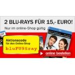 Media Markt: 2 Blu-Rays für 15 € (ausgewählte Filme)