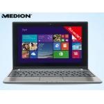 """MEDION Multitouch-Notebook 25,4 cm (10"""") mit Windows 8.1 um 299 Euro ab dem 13.02.2014 beim Hofer"""