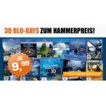 Saturn: 20 Dokumentationsfilme als Blu-Ray 3D um je 9,99 €