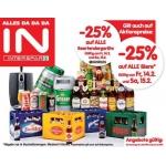 Interspar: -25% auf Bier und Biertender Geräte am 14. u. 15.2.2014
