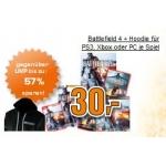 Saturn Tagesdeal: Battlefield 4 für PC/PS3/Xbox 360 + gratis Battlefield 4 Hoodie