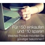 10€ Amazon Gutschein ab 50€ MBW fürs Verknüpfen mit Facebook