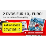 Mediamarkt: 2 DVDs um 10 € (ausgewählte Filme)