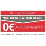 Keine Angebotsgebühr auf ebay.at vom 20.02.2014 – 23.02.2014
