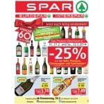 Neue Sortimentsaktionen (z.B.: -25% auf alle Sekt, Prosecco, Champagner und Spiritousen & Knabberartikel bei Spar)