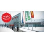 Minus 20 Prozent Rabatt für die Wohnen & Interieur Messe 8.–16. März 2014