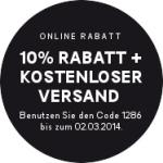 H&M: -10 % auf Alles (ausgenommen reduzierte Ware + Designerkollektion) + kostenloser Versand + weiterer Gutscheincode verwendbar