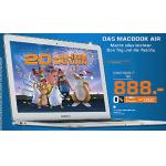 MacBook Air 13″ (MD760) um 888 Euro im Saturn Vösendorf