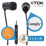 2x TDK SP60 In-Ear-Kopfhörern inkl. Versand um 35,90€