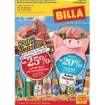 Neue Sortimentsaktionen (z.B.: -25% auf alle Biere und Schweinefleisch bei Billa)