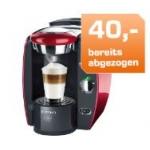 Mediamarkt & Saturn: 40 € Rabatt auf Tassimo und Dolce Gusto Kaffee-Kapselmaschinen