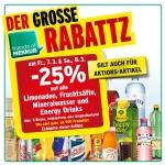 Merkur: -25% auf Limo, Fruchtsäfte, Mineral und Energy Drinks (zB.: Coca Cola, – Light, -Zero, Fanta oder Sprite 1,5 L um 0,97 €) für FoM am 7.3. u. 8.3.2014