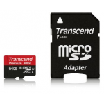 Transcend Premium Class 10 microSDXC 64GB Speicherkarte inkl. Versand um 29,90€