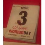 Vorabinfo: Womanday am 3. April 2014 – 10 Jahre Jubliäum – alle Partner & Gutscheine ab ca. 27.3.2014