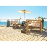 Bamboo Sonnenschirm um 27,95 Euro bei Mömax online
