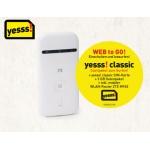 WLAN-Router (ZTE MF 65) inkl. 3 GB yesss Datenguthaben + Yesss Classic-Datensim bei Hofer.at