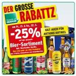 Merkur: -25% auf Bier und Biertender Geräte für FoM am 21. und 22.3.2014