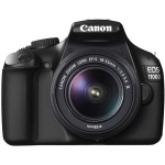 Saturn (NÖ/Wien): Digitale Spiegelreflexkamera Canon EOS 1100D schwarz mit Objektiv EF-S 18-55mm 3.5-5.6 DC II um 222 € statt 305 €