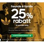 Adidas: Heute, 20.03.2014, gibt es 25% Rabatt im Adidas-Onlineshop