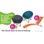 Mömax: Sonnenliege und Relaxsessel um jeweils 20 € (+2,95 € Versand)