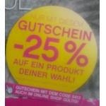 BIPA: -25 % auf ein Produkt eurer Wahl bis zum 30.04.2013