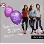 -20 % Rabatt auf die gesamte Kollektion zum 3. Geburtstag des C&A Onlineshops und zusätzlich keine Versandkosten
