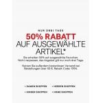H&M Onlineshop: -50 % Rabatt auf ausgewählte Artikel + 2 Gutscheincodes einlösbar (5 € Rabatt + kostenloser Versand ab 50 €)