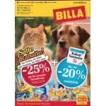 Neue Sortimentsaktionen (z.B.: -25% auf die gesamte Tiernahrung bei Billa)