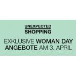 Womanday 2014 – schon heute & morgen (2. & 3. April 2014) in der SCS