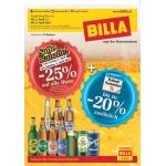 Billa: -25% auf alle Biere (auch Radler) am 4. u. 5.4.2014 (f. Vorteilsclubmitglieder)