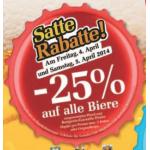 Neue Sortimentsaktionen (z.B.: -25% auf alle Biere bei Billa)