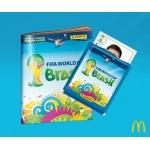 Panini WM 2014 Sticker: Gratis zu jedem McMenü oder verbilligt bei Libro und Amazon kaufen
