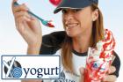 2 Riesentüten Frozen Yogurt in Wiens erster Yoguteria
