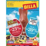 Neue Sortimentsaktionen (z.B.: -25% auf alle Süßwaren inkl. Ostersüßwarenbei Billa)