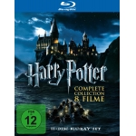 Harry Potter – Complete Collection Blu-ray Box um 39,97€ bei Amazon.de