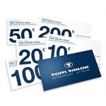 Tom Tailor: 30% Rabatt auf Geschenkgutscheine – nur morgen ab 0:00