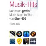 Amazon verschenkt heute Android Musik Apps im Wert von €40