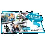 Libro Gamesaktion: 1+1 Gratis Aktion auf ausgewählte Games (bis 3.5.2014 gültig)