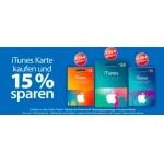 -15% auf iTunes Karten bei Müller