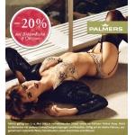 Palmers: -20% auf Unterwäsche und Dessous