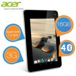 Acer Iconia 7″ Tablet 16GB mit 3G inkl. Versand um 125,90€