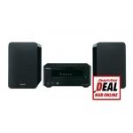 Mediamarkt Online Deal: Micro-Hi-Fi Anlage ONKYO CS-245BT mit Bluetooth (aptX, MP3, USB, iPod/iPhone/iPad, Ladefunktion) in schwarz um 175 € statt 206,72 €