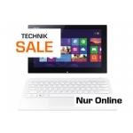 Saturn Online Technik-Sale: Sony VAIO Tap SVT1121B2EW 11,6″ Touch ConvertibleTablet-PC um 555 € statt 653,99 €